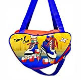 #3: Shopaholic Attractive Orange And Blue Skating Bag For Boys