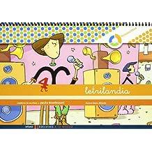Letrilandia Lectoescritura cuaderno 4 de escritura (Pauta Montessori) (A tu medida (entorno lógica matemática)) - 9788426371423