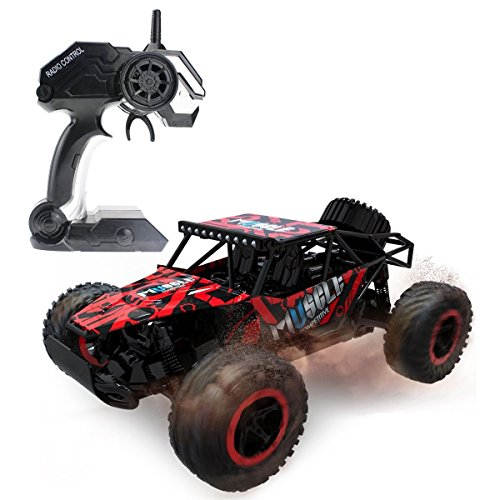 Racing car monster truck