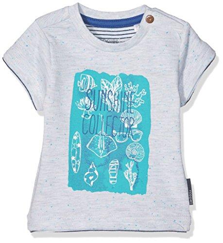 Noppies Baby-Jungen Hemd B Tee Ss Edgewood, Weiß (Off White Melange C024), 62