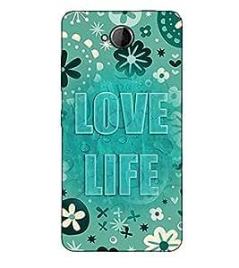 Fuson Designer Back Case Cover for Microsoft Lumia 650 :: Microsoft Lumia 650 Dual SIM (Love life theme)