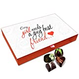 Best Gifts For Guys And Girl - Chocholik Friendship Gift Box - A Girl Needs Review