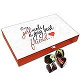 Chocholik Friendship Gift Box - A Girl Needs A Guy Best Friend Chocolate