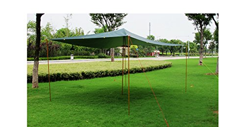Reixus(TM) 2 PCS 7075 lega di alluminio sunshelter Support bar Tenda palo dell'asta di tenda ispessi