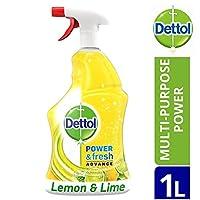 Dettol Spray Power & Fresh Advance Multi-Purpose Lemon & Lime 1L