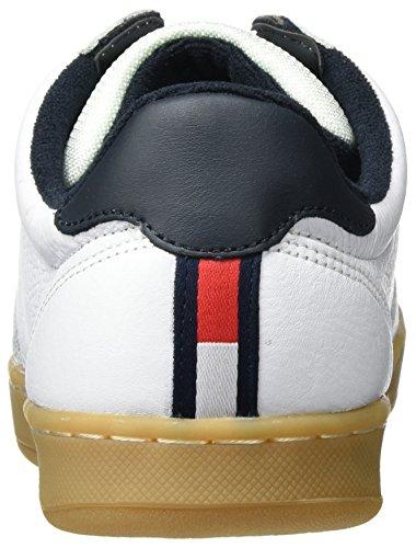 Tommy Hilfiger Herren H2285oxton 1a1 Low-Top Weiß (White 100)