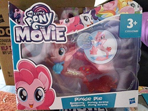 My Little Pony: Der Film - Pinkie Pie - 8 cm Seepony Figur + Accessorie