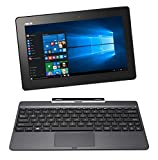 Asus T100TAF-W10-DK076T 25,65 cm (10,1 Zoll) Convertible Laptop (Intel Atom Z3735F, 2GB RAM, 32GB HDD, Intel HD, Touchscreen, Windows 10 Home) grau