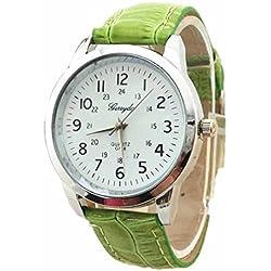Tonsee Elegant Analog Luxury Sports Leather Strap Quartz Mens Wrist Watch