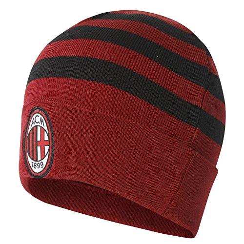 Adidas acm 3s woolie ac milan capello, rosso (rojvic/nero/bianco), osfm