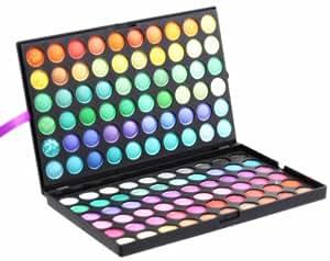 Original Oramics Schminkkasten TOLLE Farben - 120 Lidschatten - Von Matt bis Schimmer - Super breite Make-Up-Palette