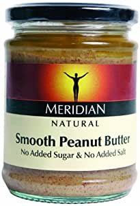 Meridian Natural Smooth Peanut Butter 280 g (Pack of 6)