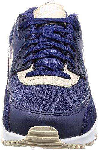 Nike 325213, Scarpe da Ginnastica Donna Blu (Binary Blue/Oatmeal/White/Mtlc Silver)