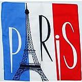 Kissenhülle Boxspringbett Bistro Paris Retro Vintage