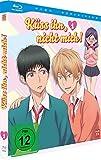 Küss ihn, nicht mich! - Vol. 1 (Episoden 1-4) mit Leseprobe vom Manga [Blu-ray]