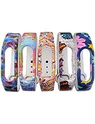 XCSOURCE 5pcs Ersatz Armband Handgelenk Bügel für Xiaomi Mi 2 Marken Millet Intelligentes Armband TH475
