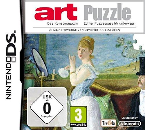 Puzzle - art - [Nintendo DS] - Ds Nintendo Wort-spiele Für
