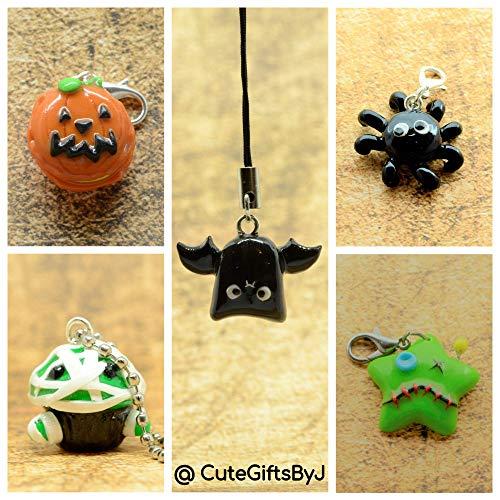 Halloween Anhänger (Clay Charms Halloween)
