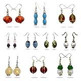 Beadworks Beaded Earrings - SET OF 10 PA...