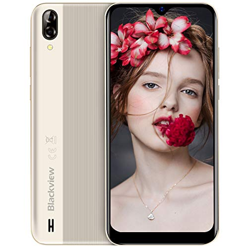 Blackview A60 (2019) Smartphone Libres 15.7cm (6.1') 19.2:9 HD Display, Cámara...