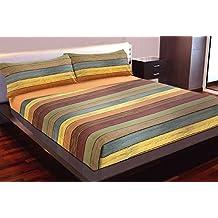 Juego de sábanas estampado Rayas PARKET (para cama de 135x190/200)