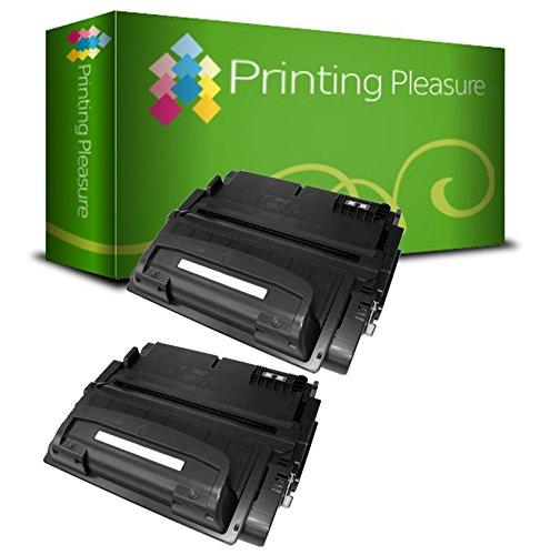Printing Pleasure 2 Toner Kompatibel zu Q1339A/39A für HP Laserjet 4300 4300DTN 4300N 4300TN 4300DTNS 4300DTNSL - Schwarz, Hohe Kapazität 4300tn Laser