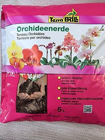Terre spéciale pour orchidées 5l