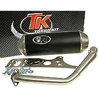 Turbo de escape Kit Gmax 4T para Kymco Agility 125, Movie XL