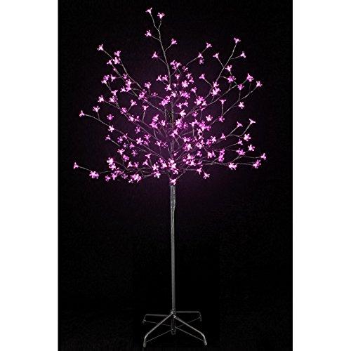 Arbre lumineux 200 leds roses 150cm - 875411A