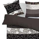 SoulBedroom Blumen Dream 100% Baumwolle Bettwäsche (Bettbezug 240x220 cm & 2 Kissenbezüge 80x80 cm)