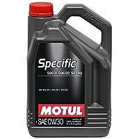 Motul 106437Specific Moteur 50601–50600–503000W-30, 5l