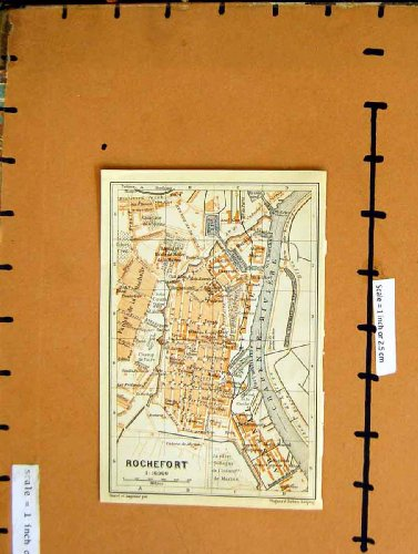 citta-1912-di-pianificazione-della-via-della-mappa-rochefort-francia-la-charente