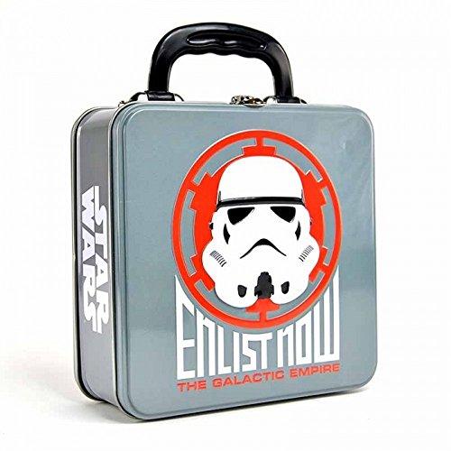 Star Wars - Blechkoffer Brotdose Lunchbox - Stormtrooper - beidseitig bedruckt