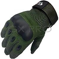 GX Pro Sports Guantes de Entrenamiento para Ciclismo, Escalada y Escalada, Color Verde, Color Verde, Tamaño Large