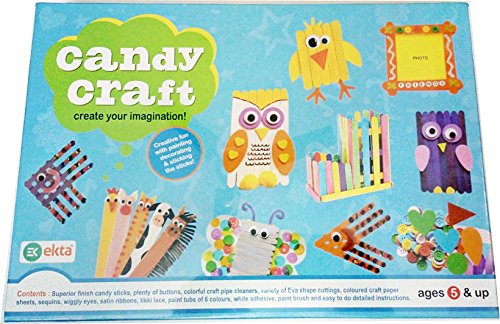 Art box Latest Candy Craft kit for making Various creative design for kids ( birthday gift for Kids)
