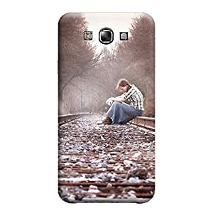 Ebby Premium Printed Back Case Cover With Full protection For Samsung Galaxy E7 (Designer Case)