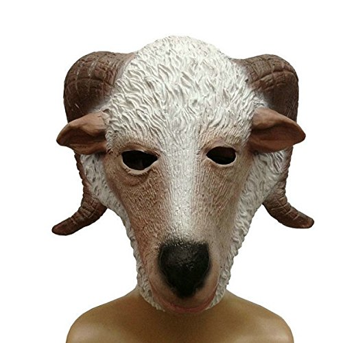 Viviance Dance Performance Props Giraffe Headgear Halloween Goat Maske