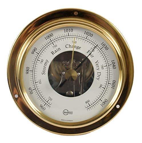 Barigo 1710 Barco Barómetro Tempo S latón analógico 88mm