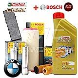 Motoröl Castrol Edge 5W30 C3 + 4 Original Bosch (1457429118, 0450906451 OPPURE 1457434324, 1457433589, 1987432361)