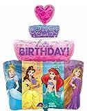 Amscan Folienballon Super Shape Disney Prinzessinnen Torte