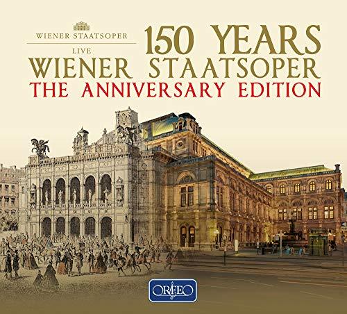 150 Video (150 Jahre Wiener Staatsoper - Die Jubiläumsausgabe der Wiener Staatsoper 1955 - 2016 [22 CD-Box])