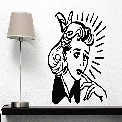 ber Dekoration Wand Vinyl Aufkleber Schönheitssalon Und Spa Styling Haarschnitt Dekore Gw Karte Farbe 96x105 cm ()