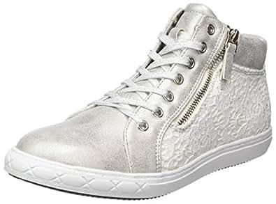 Supremo Mädchen 4861215 Hohe Sneaker, Silber (Silver), 37 EU