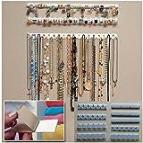 MFEIR® New Adhesive Wall Mount Jewelry Hooks Holder Storage Set Organizer Displa, 9pcs