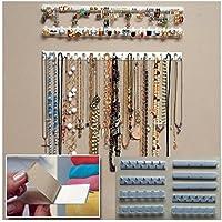 MFEIR® Présentoir rangement de Bijoux Support Crochet Organisateur mural, 9 pièces