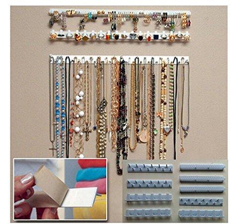 MFEIR® BLING EEZ el gancho pegado para colgar un serie de adornos de adhesivo, 9 piezas