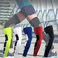 SueSupply Leg Warmers Sport Radfahren Beinlinge UV-Schutz Leg Sleeves 1 Stück