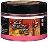 Quantum Erwachsene Grundfutter und Köder Pulver 50g Radical Bloody Chicken Neon Puder, Mehrfarbig, 3949018