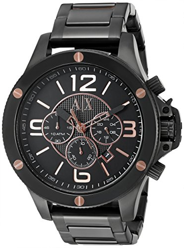 51bTmA2TyVL - Armani AX1513 Wellworn Mens watch