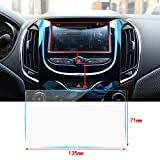 Cobear 6 Zoll HD Auto Navigation Schutzfolie Transparent Gehärtetes Glas Schutz passt für LCD GPS Navi Touch-Display 135×71mm